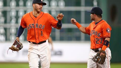 Houston Astros (84 wins in 2016)
