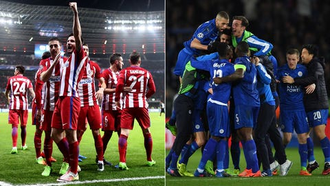 Atletico Madrid vs. Leicester City