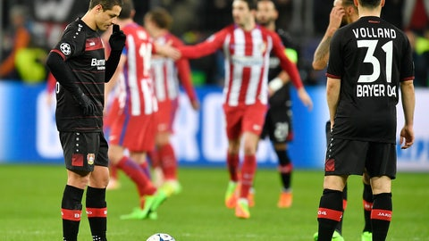 Bayer Leverkusen — Forget their rotten luck in Spain