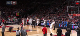 Blazers fan wins car with half-court shot just moments after Taj Gibson's miracle heave