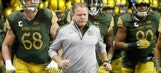 Brian Kelly explains how he plans to bring Notre Dame back to prominence