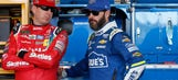 See how NASCAR stars spent the morning in Phoenix