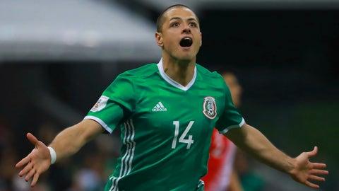 """CF: Javier """"Chicharito"""" Hernandez"""