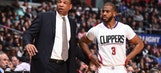 Clippers guard Chris Paul, coach Doc Rivers earn NBA monthly honors