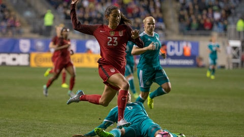 Would Alex Morgan and Christen Press be the ideal striker pair?