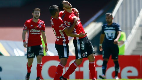 Tijuana (31 points, +8 goal differential)