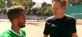 Watch: Conan O'Brien brought Giovani Dos Santos to a pickup soccer game in Mexico