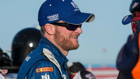 Does Dale Earnhardt Jr. win his fourth Phoenix race?