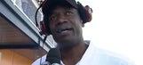 Dikembe Mutombo hangs with Kevin Harvick in Las Vegas