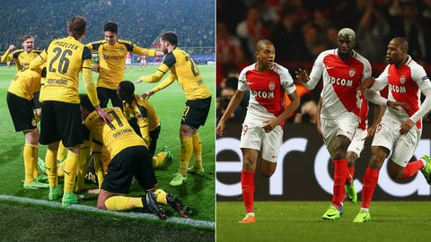 Borussia Dortmund vs. AS Monaco