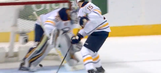Jack Eichel accidentally scored on his own net in strange fashion