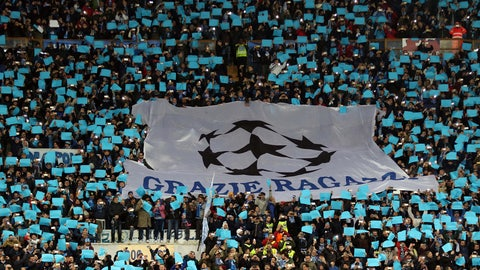 The Napoli faithful did all they could