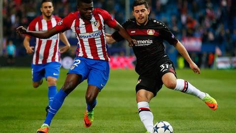 The first half belonged to Leverkusen