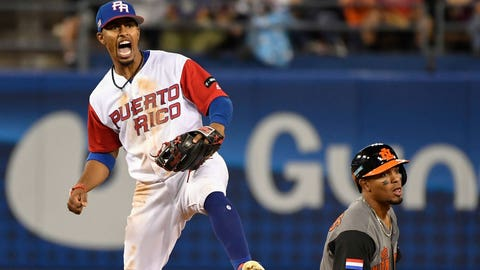 Frankie and Puerto Rico beat the Netherlands in the semifinals