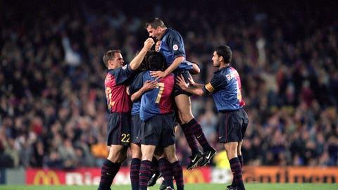 Barcelona vs. Chelsea, 2000 quarterfinals