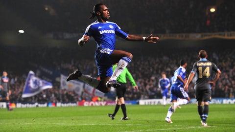Chelsea vs. Napoli, 2012 round of 16