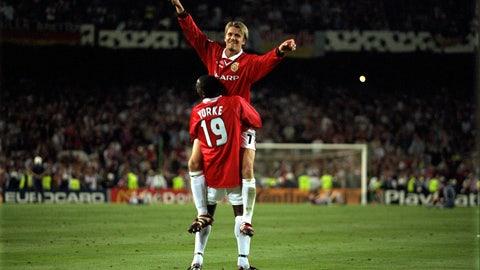 Manchester United vs. Bayern Munich, 1999 final