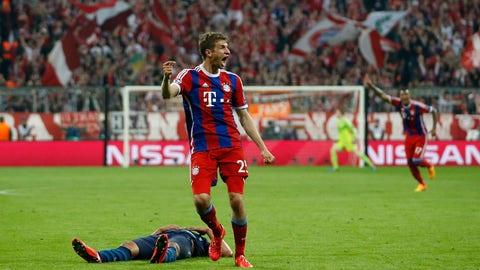 Bayern Munich vs. Porto, 2015 quarterfinals
