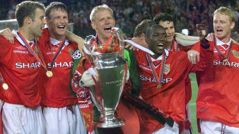 Manchester United - Best finish: 3x Winners, Last trophy in 2007/08
