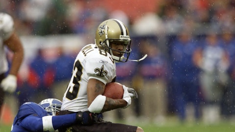 New Orleans Saints: WR Albert Connell (2001)
