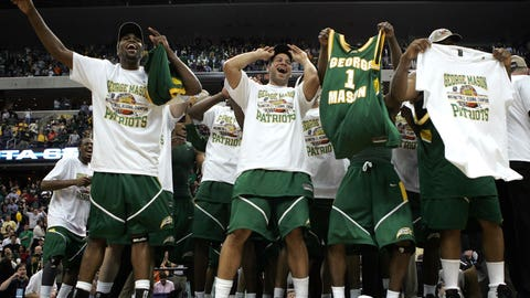 No. 11 George Mason (2006, Final Four)