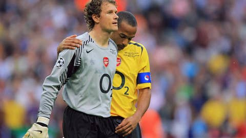 Arsenal - Best finish: Runners-up, 2005/06