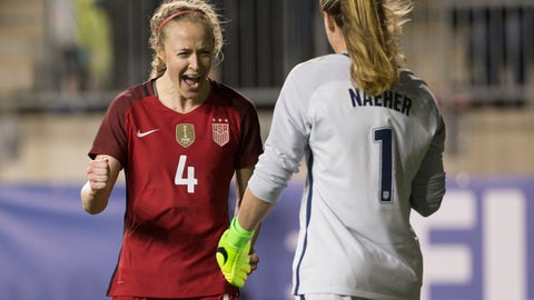 Can the USWNT's three-back handle a high press and fast pace?