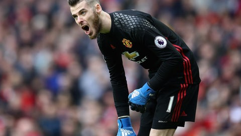 Goalkeeper: David De Gea