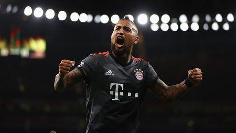 2016/17: Bayern 10, Arsenal 2
