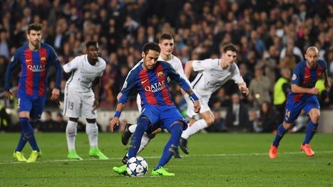 Neymar shone brightest when it mattered