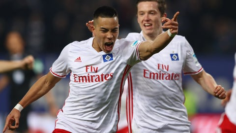 Bobby Wood — Hamburg