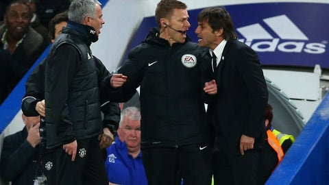 Jose Mourinho's rude returns to Stamford Bridge continue