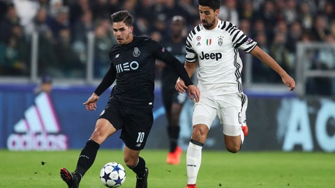 Center midfield: Sami Khedira
