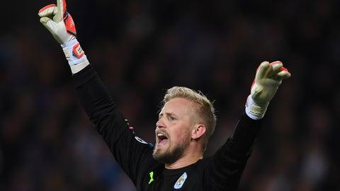 GK: Kasper Schmeichel, Leicester City