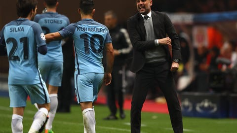 City and Liverpool wrestle for position