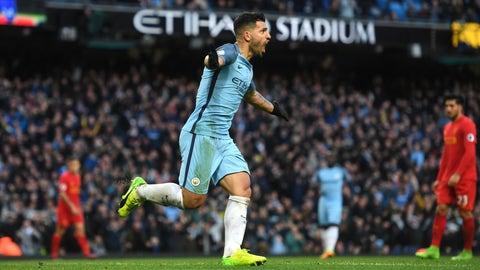 Sergio Aguero, Manchester City – €83.6 million