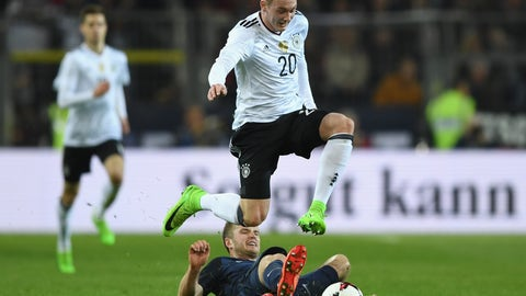 Germany's young players have a lot of potential but they still need some time to make the leap
