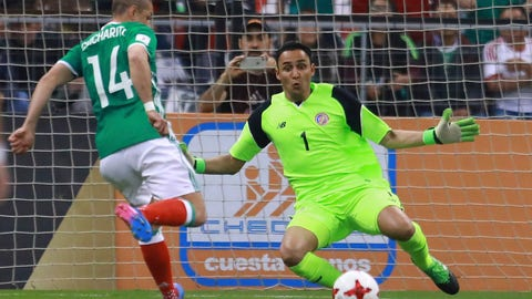 Keylor Navas was Costa Rica's best player