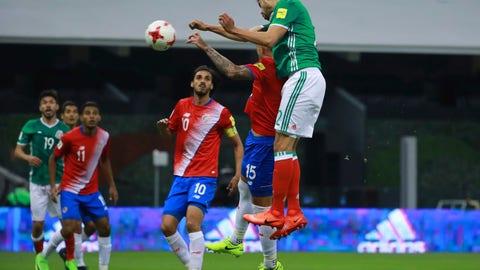 Will Nestor Araujo continue to cement his spot in the center of defense?
