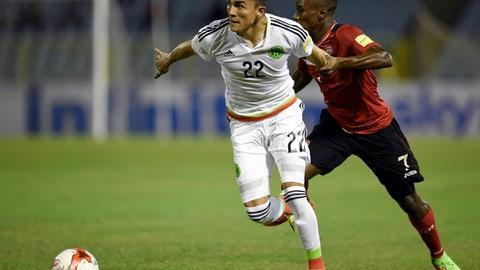 March 28: Trinidad & Tobago 0-1 Mexico