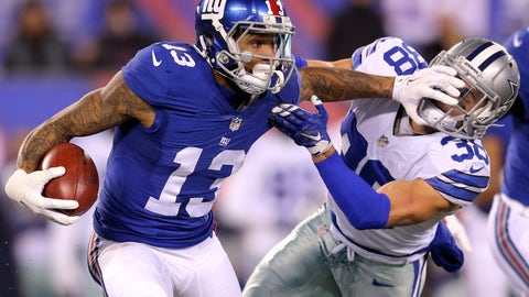 December 10: Dallas Cowboys at New York Giants, 4:25 p.m. ET
