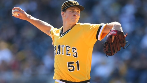 Tyler Glasnow - SP - Pirates