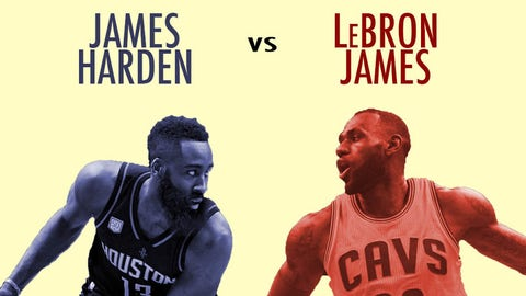 The case for LeBron over Harden