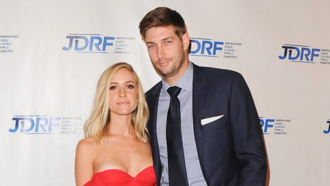 CENTURY CITY, CA - MAY 09:  TV Personality Kristin Cavallari and NFL Player Jay Cutler attend JDRF LA's 12th Annual Imagine Gala at the Hyatt Regency Century Plaza on May 9, 2015 in Century City, California.  (Photo by Lilly Lawrence/Getty Images,)