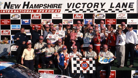 Do you think the restrictor-plate thing is gonna really be implemented in Cup? What are the higher ups thinking? Didn't they forget New Hampshire in 2000? — Leslie