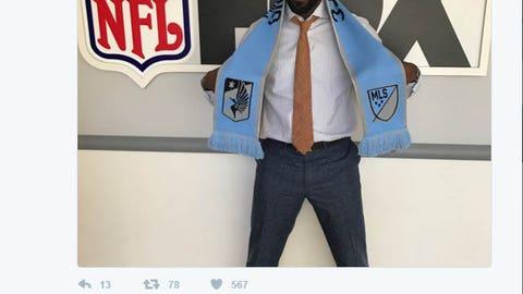 Minnesota United FC (and Greg Jennings)