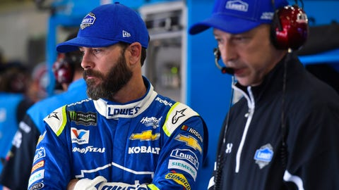 Jimmie Johnson, no change