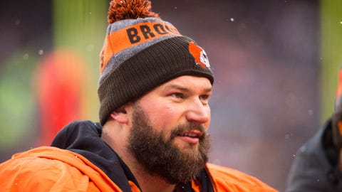 Joe Thomas, Browns and ex-Badgers tackle