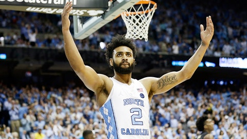 Joel Berry, G, North Carolina