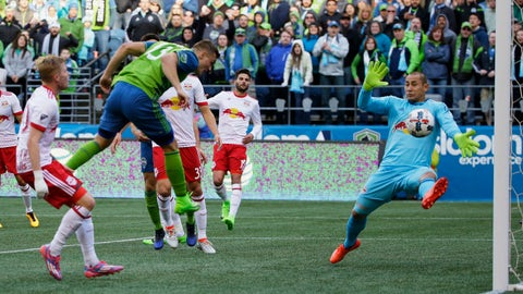Jordan Morris has picked up where he left off last year